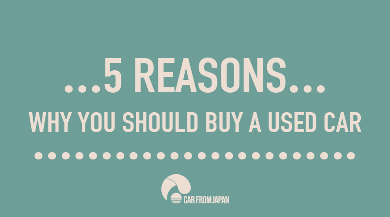 Infographic 5 Reasons Why You Should Buy A Used Car