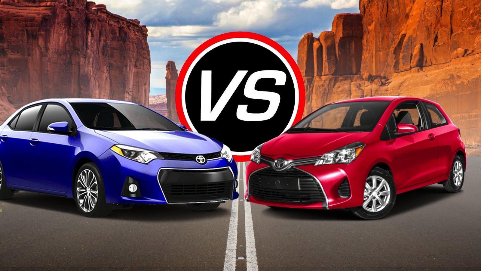 Mdx Vs Pilot >> Toyota Yaris Vs Corolla: Let's Pick the Better Car from Toyota