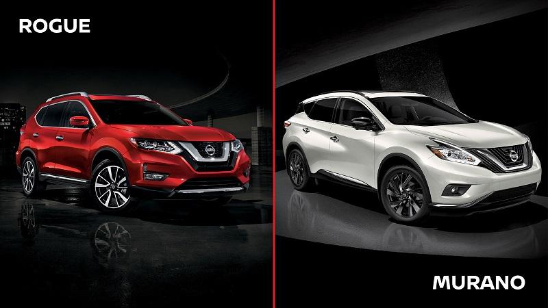 The Ultimate Comparison Nissan Rogue Vs Murano Car From Japan