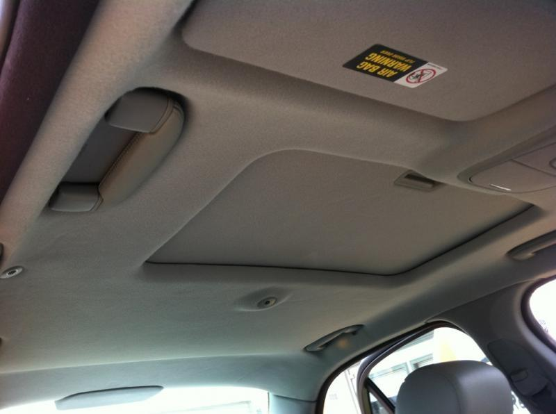 Car interior roof liner repair Car interior ceiling fabric repair