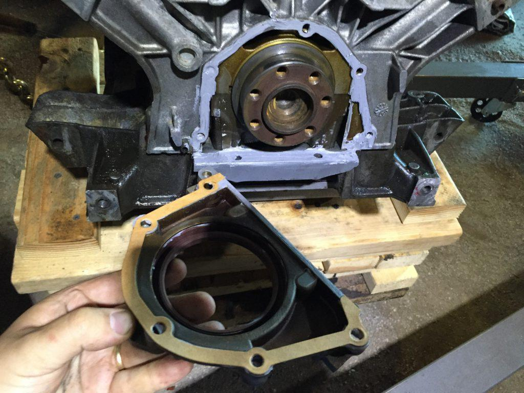 How To Replace A Rear Main Seal Without Removing The