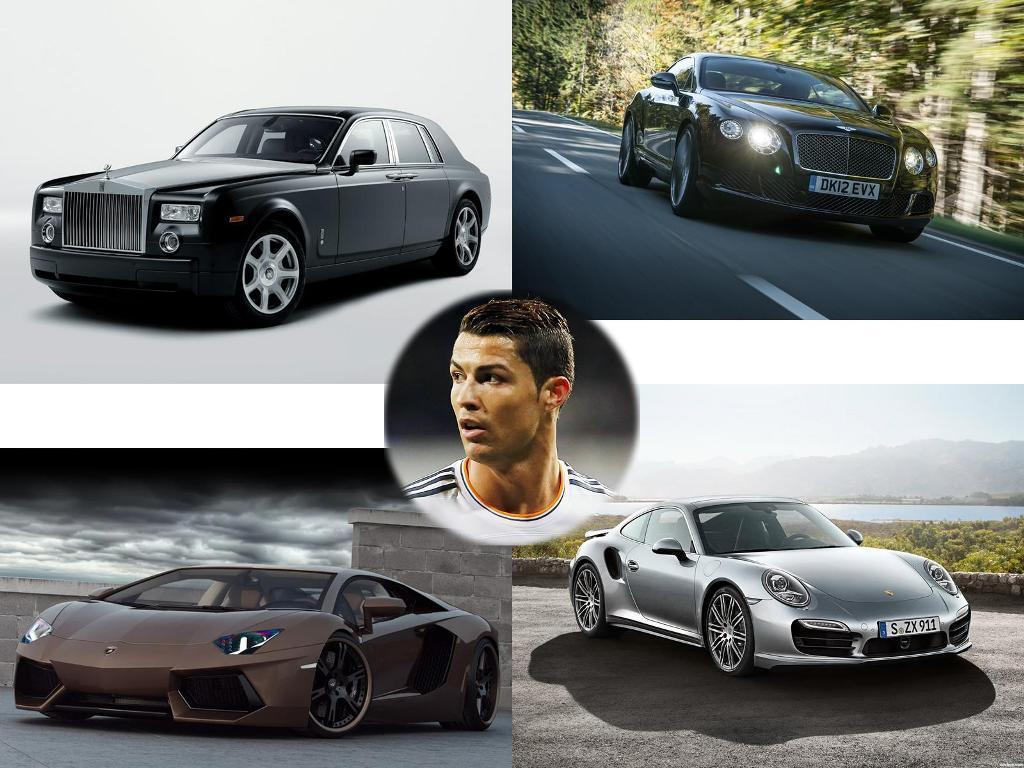 Mdx Vs Pilot >> Cristiano Ronaldo Cars - Such a Luxury Collection that You can't Imagine