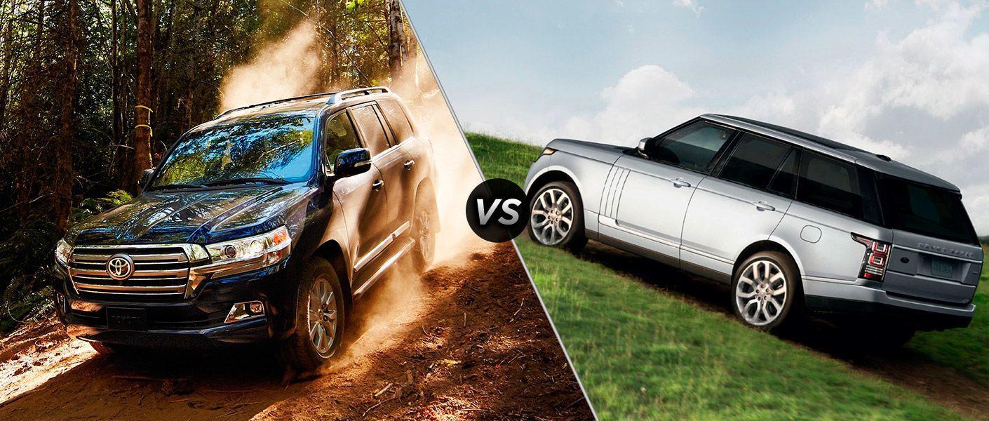 Range Rover Vs Land Rover >> Land Cruiser Vs Range Rover The Battle Of The Suvs