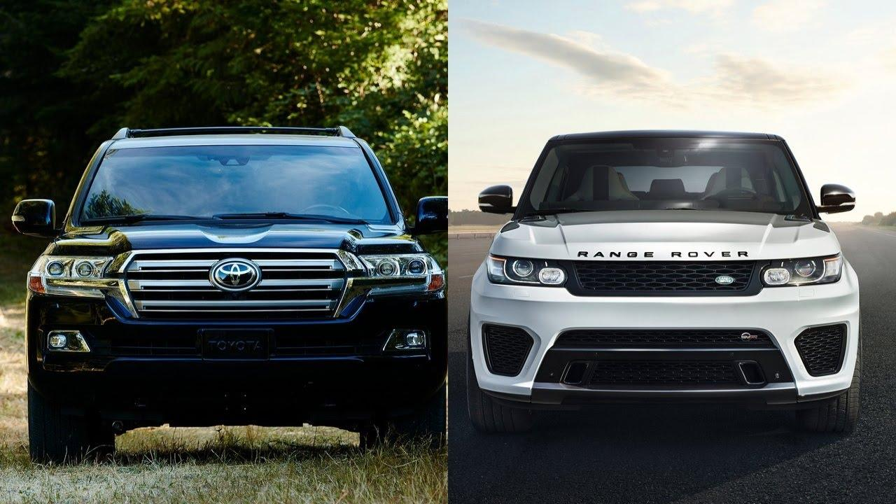 Land Cruiser vs Range Rover: The Battle of the SUVs