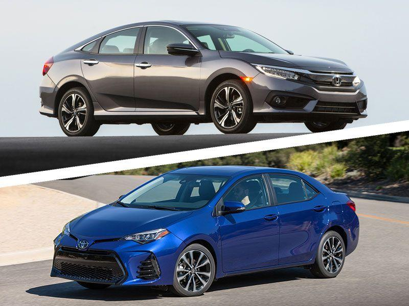 Toyota Corolla Vs Honda Civic In Search Of A Compact Car
