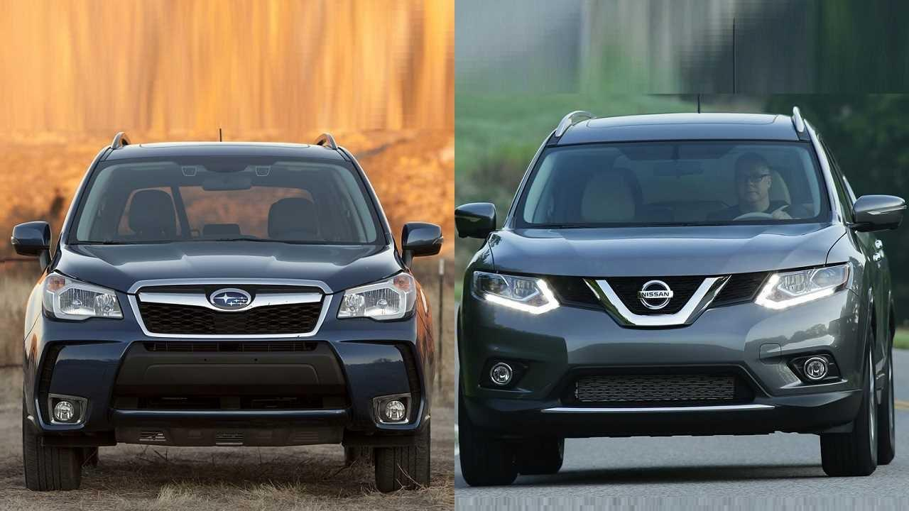 Nissan Rogue Vs Subaru Forester Finding A Better Suv