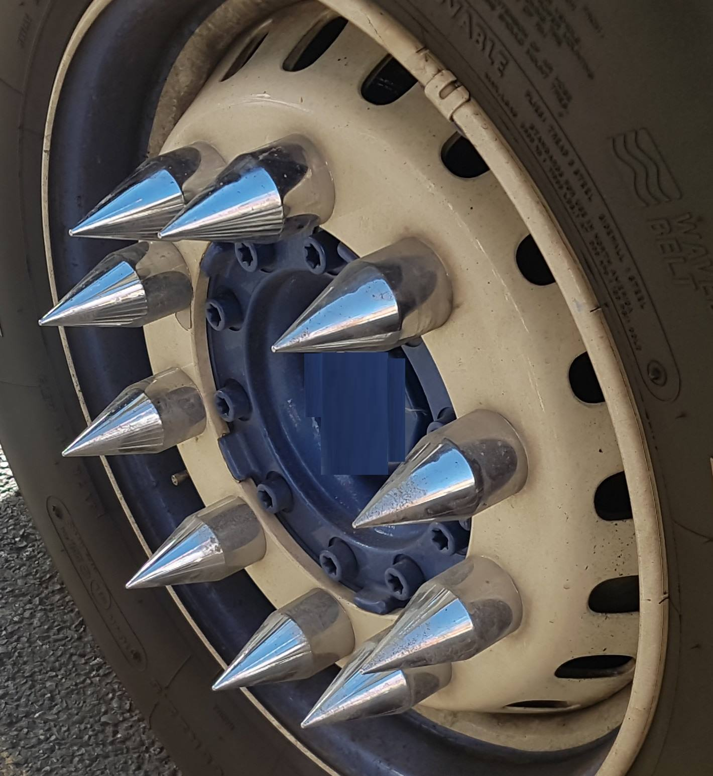 The Curious Case Of Spikes On Truck Wheels