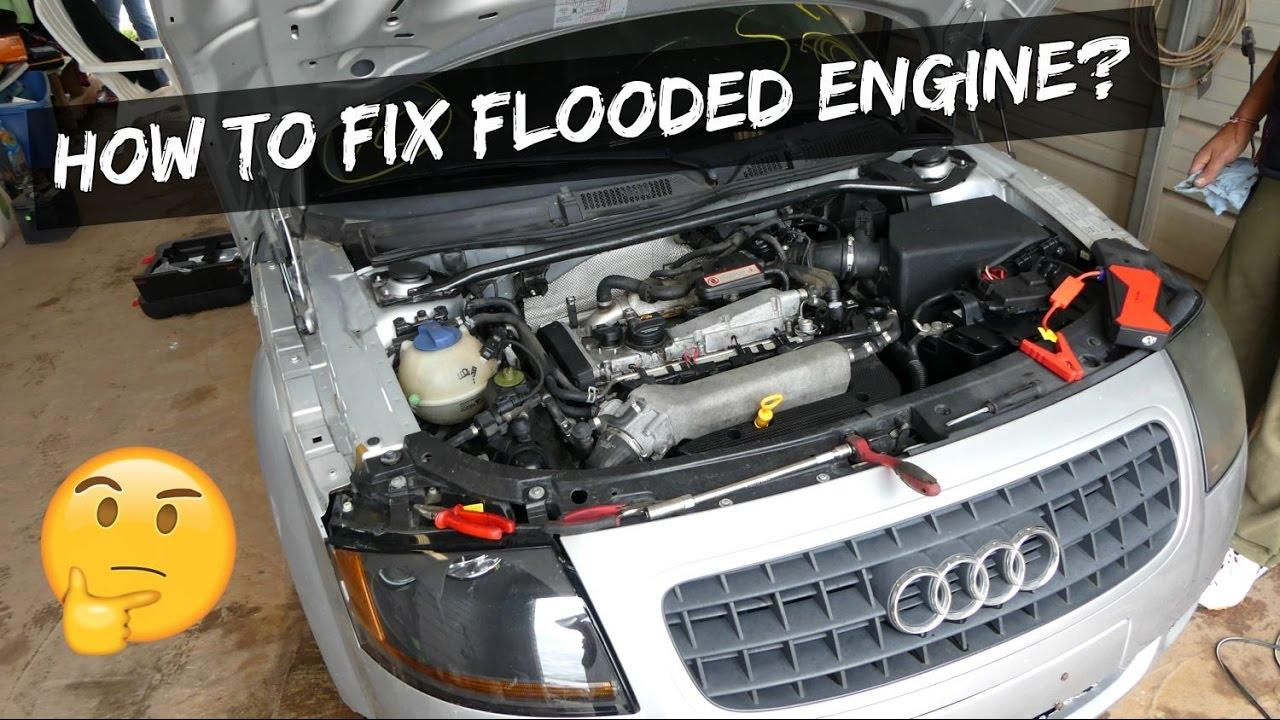 Check Tire Pressure >> How to Start a Flooded Engine With Professional Tips - CAR