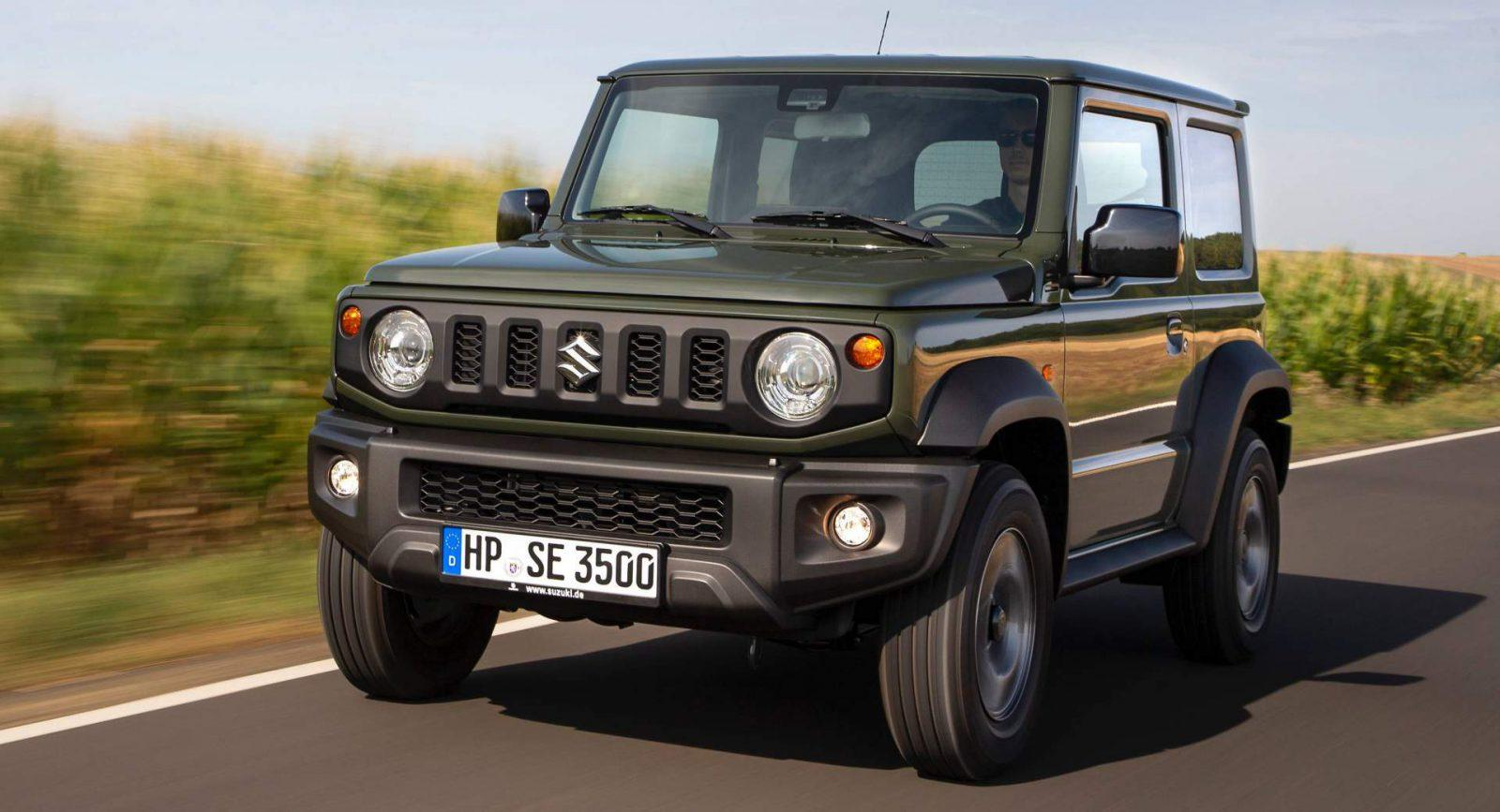Why Is New Suzuki Jimny In Great Demand The Reasons Car